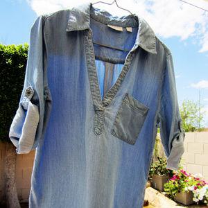 NY&Co tencel tunic, sz M